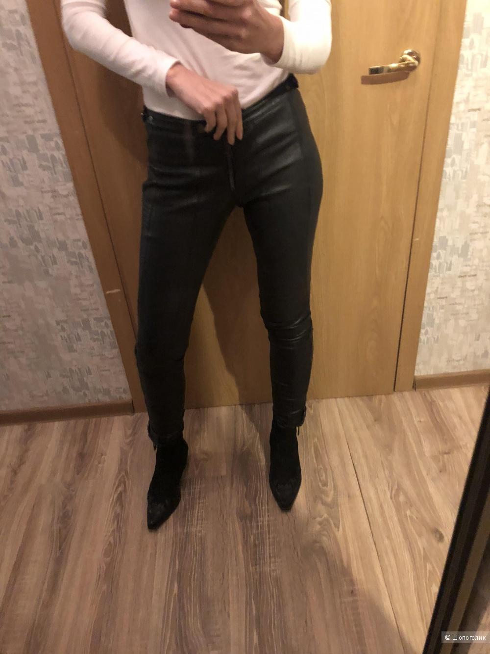 Кожаные брюки Belstaf размер S.