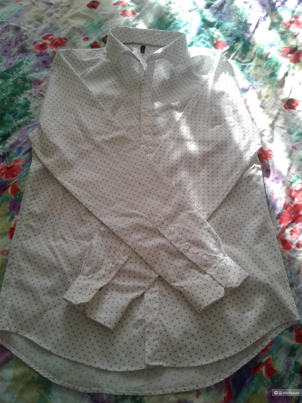 Рубашка мужская BENETTON  размер L