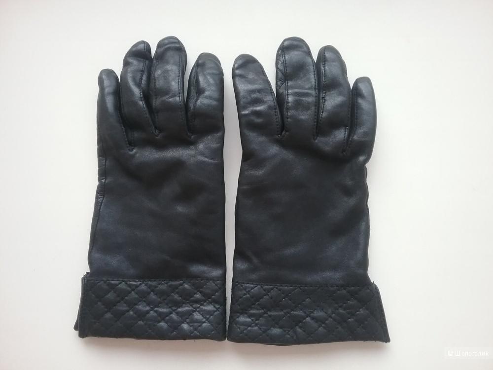 Кожаные перчатки no name, размер М-L