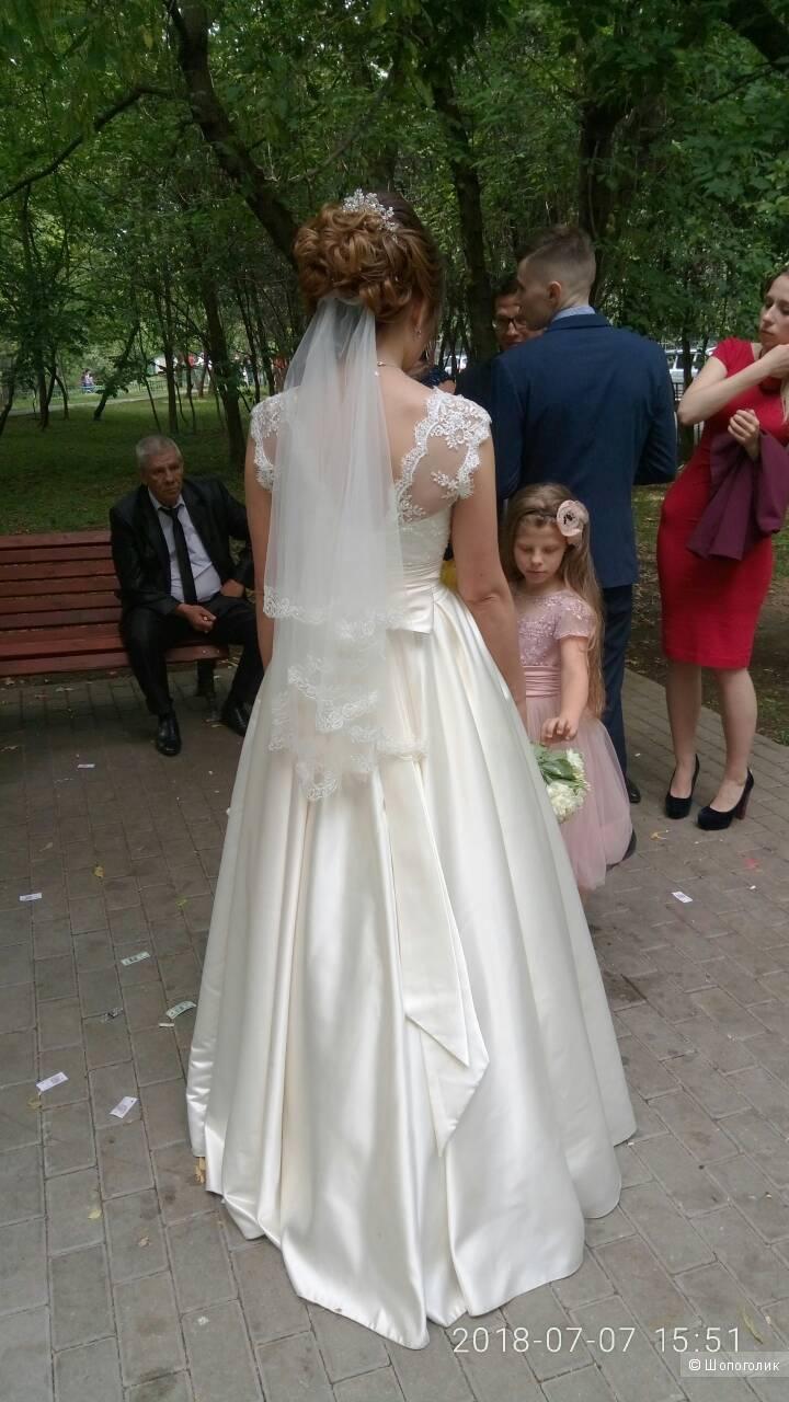 Свадебное платье размер 42/44