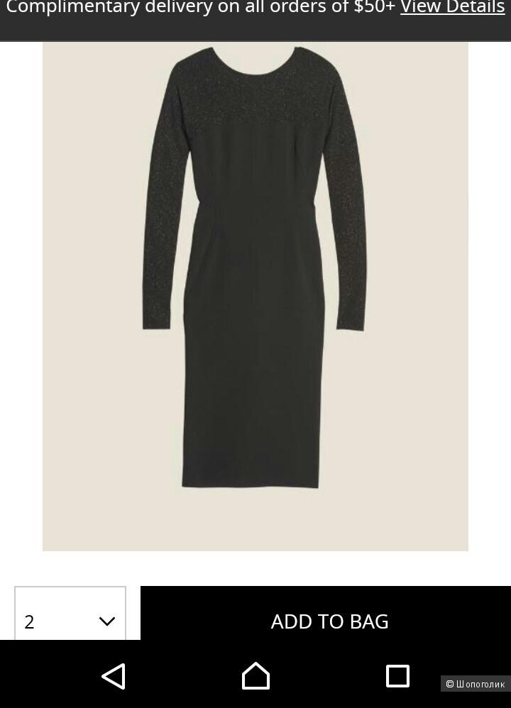 Платье DONNA KARAN 44р.(2)