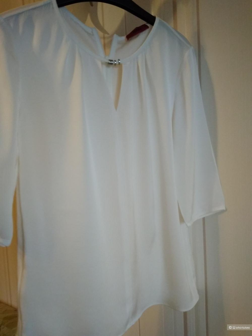 Шелковая блуза HUGO BOSS  IT38 , хс