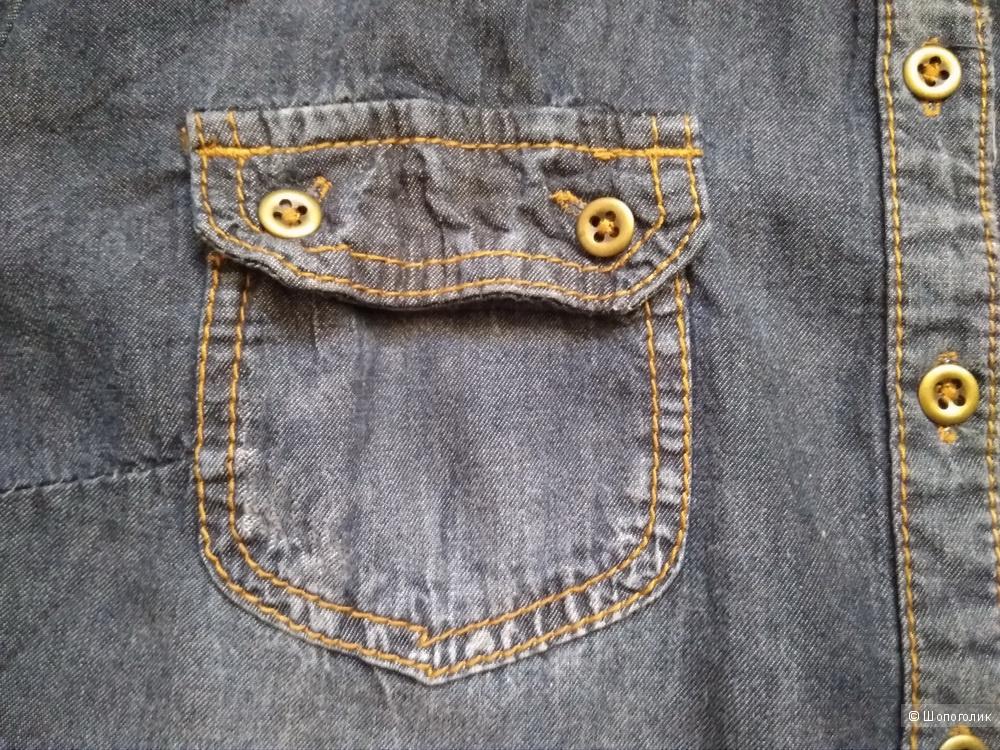 Рубашка джинсовая Tom Tailor размер 46