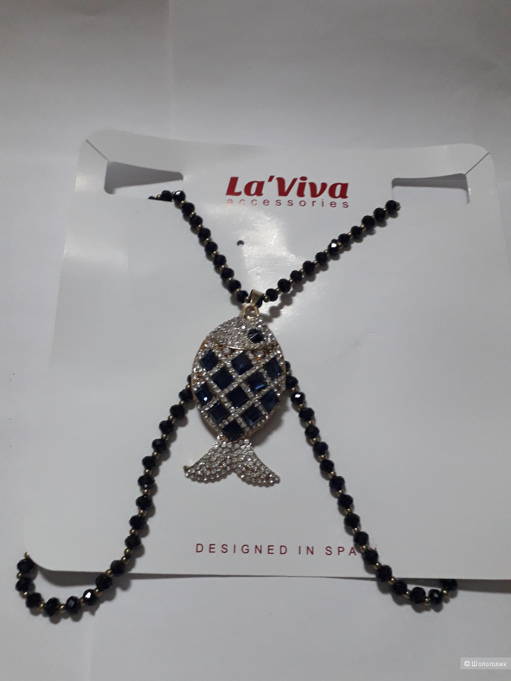 Колье La'Viva, one  size.