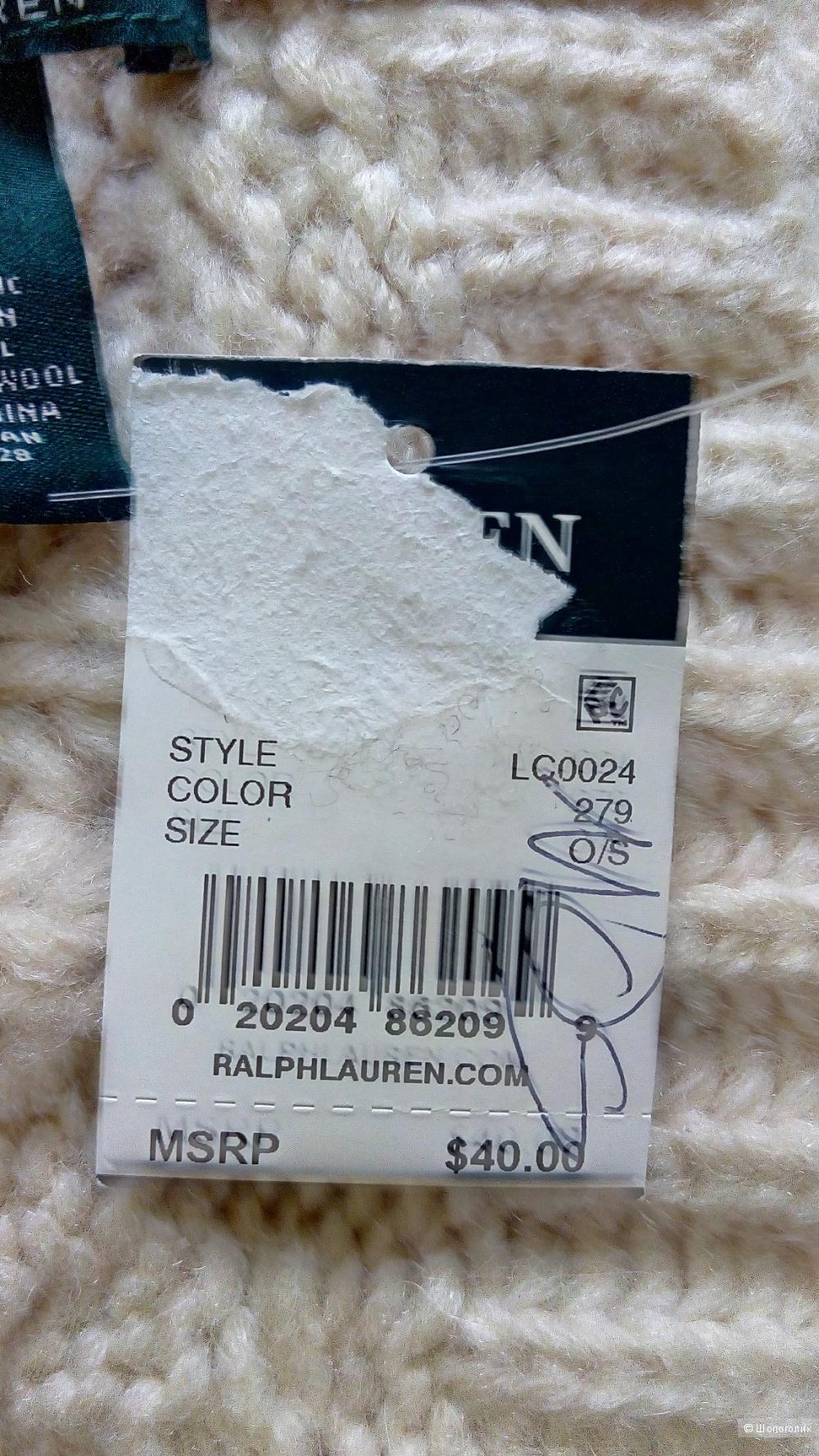 Шапка Ralph Lauren, one size