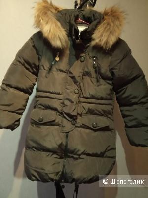 Пальто зимнее Cherche 140/146рост