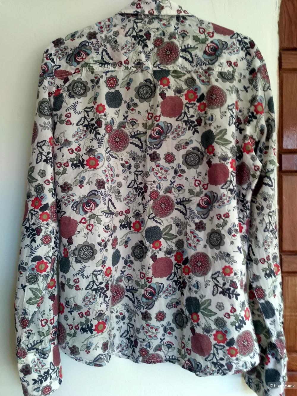 Napapijri рубашка размер xl, маломерит