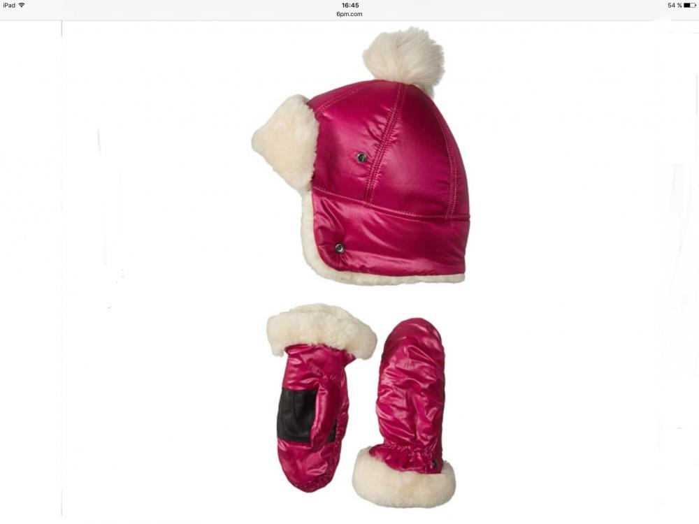 Шапка и перчатки UGG-kids р.2-4