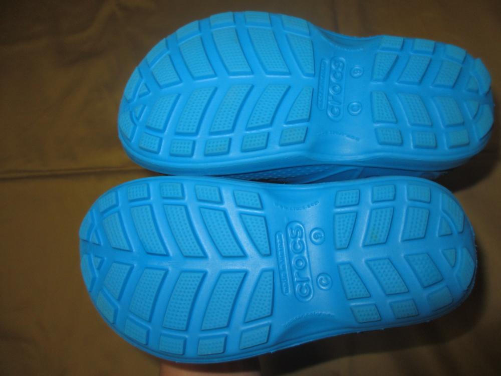 Сапоги резиновые Crocs c9/26 размер