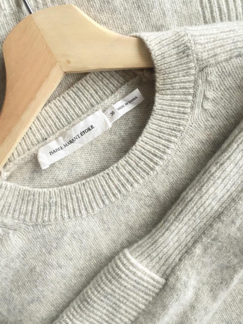 Шерстяной свитер ISABEL MARANT (EUR 36)
