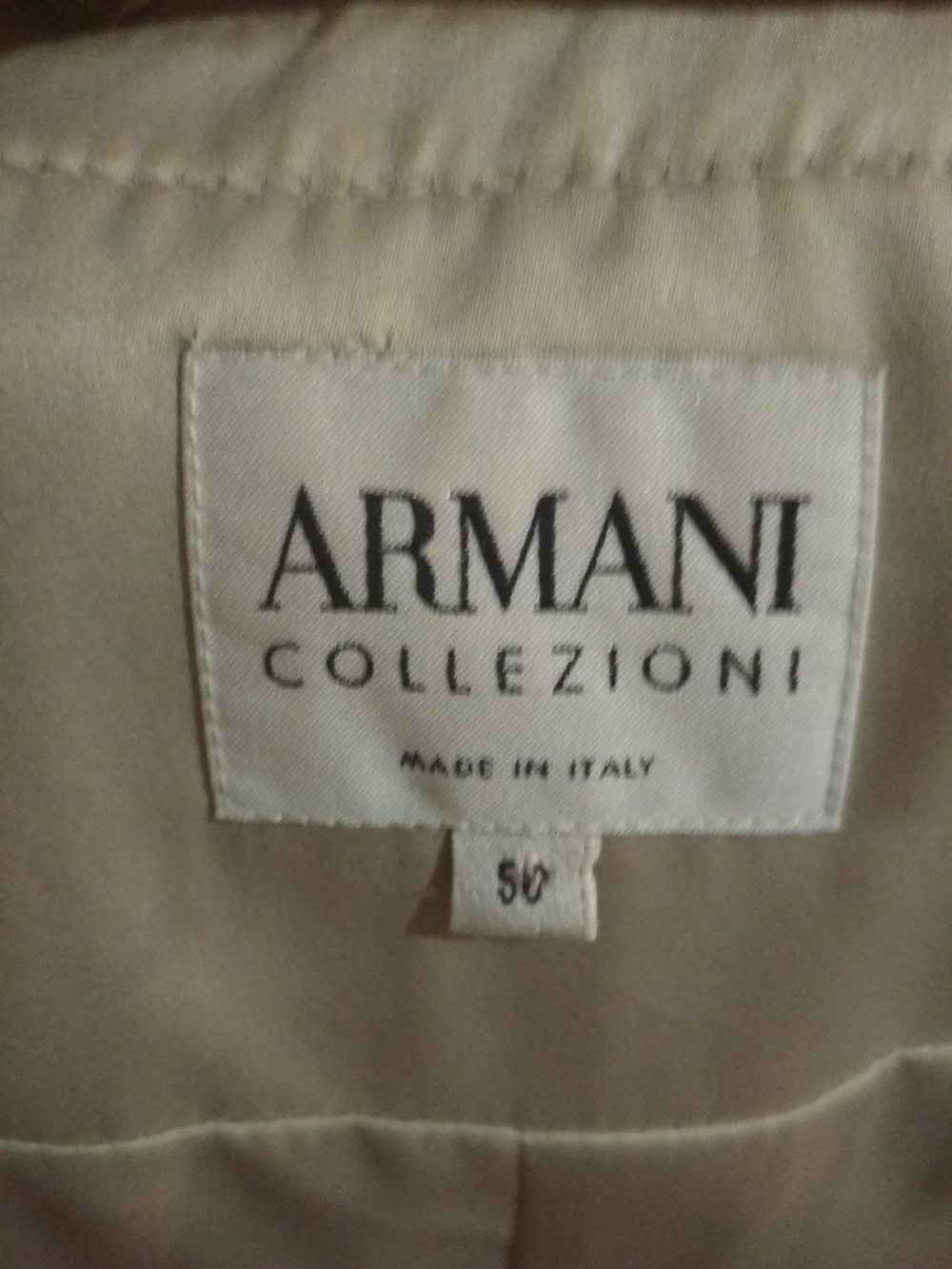Пиджак Armani collection 50