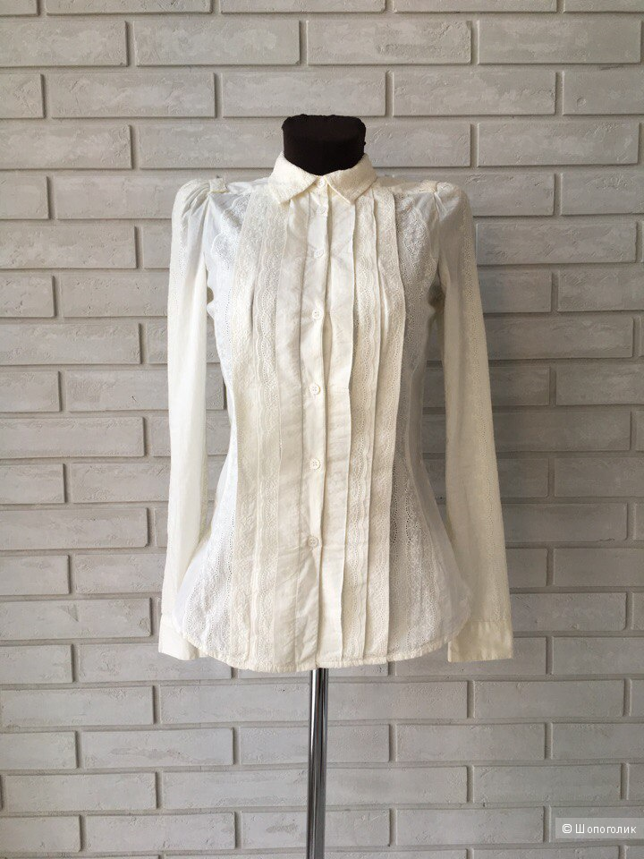 Блуза из шитья Mango, размер S 42-44