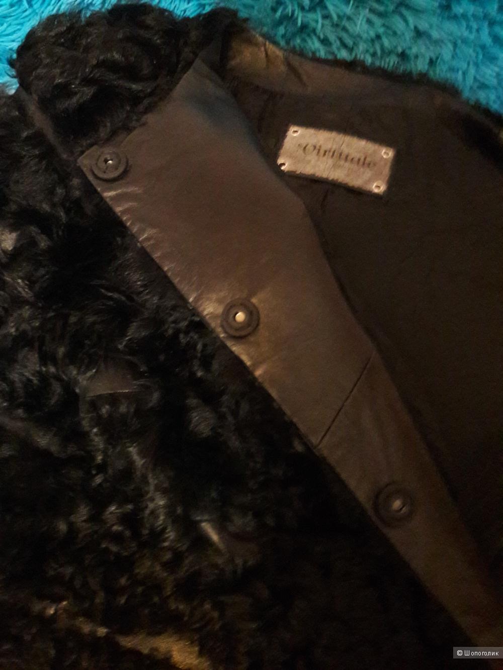 Шуба из козлика, Virtuale Fur Collection, размер 48-50