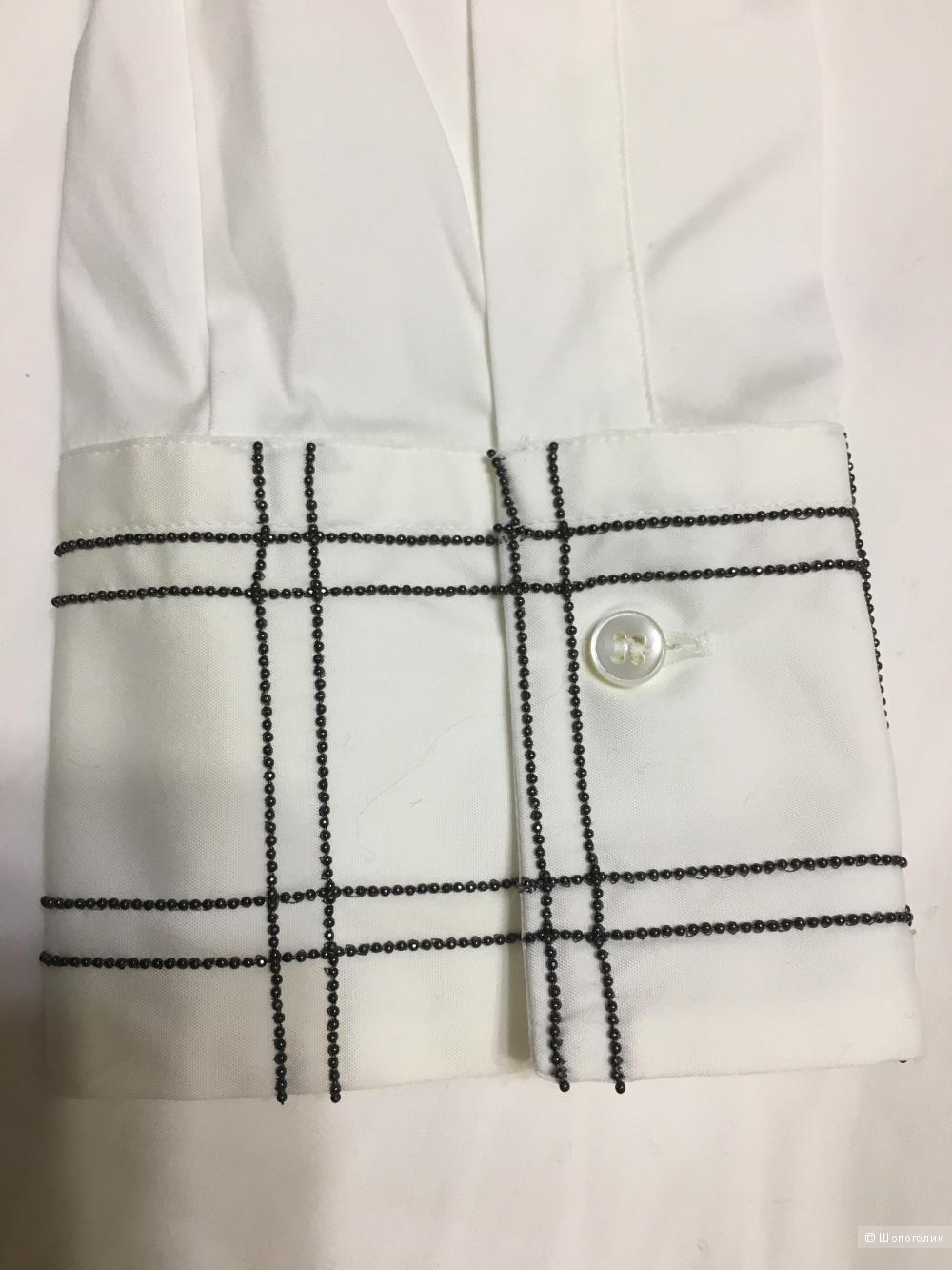 Блузка-рубашка BRUNELLO CUCINELLI, размер XL. На рос. 50+