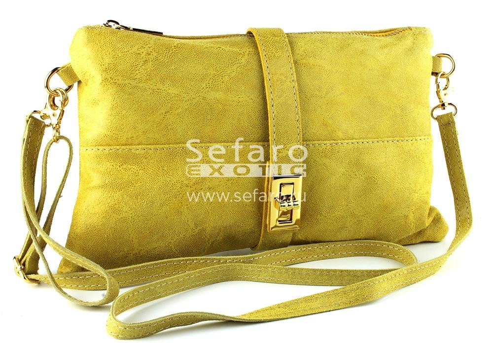 Сумка(клатч) из натуральной кожи Sefaro-exotic