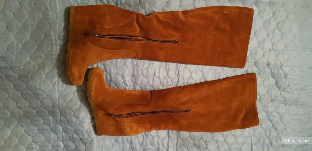 Сапоги ботфорты SM SHOESMARKET женские размер 39