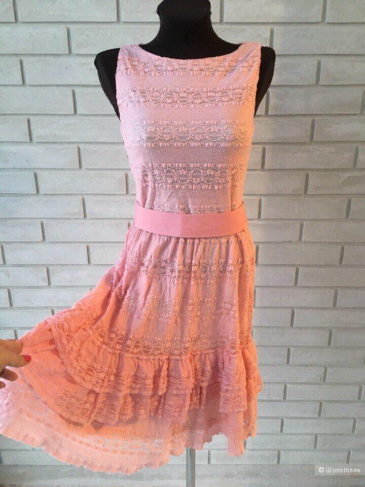 Платье Jana Nedzvetskaya из итальянского кружева, размер 44