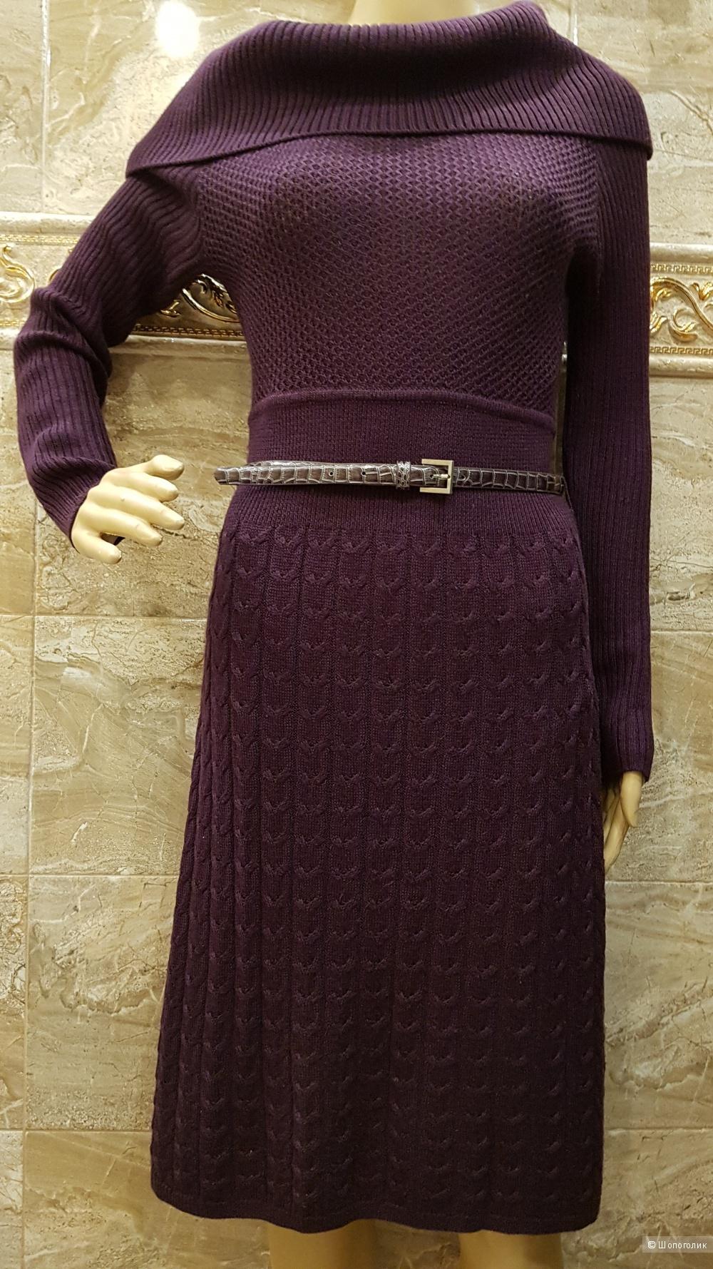 Теплое платье от TAHARI. р.44