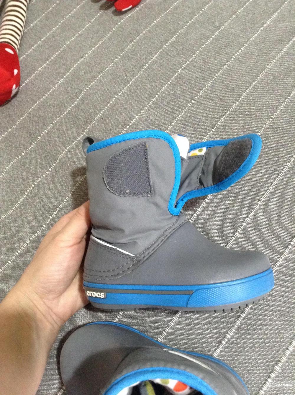 Ботинки crocs, размер С6 (23)