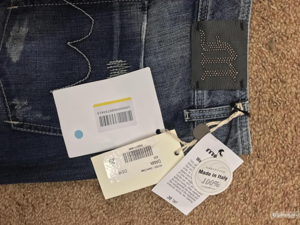 Женские джинсы MET, италия, Р 29.