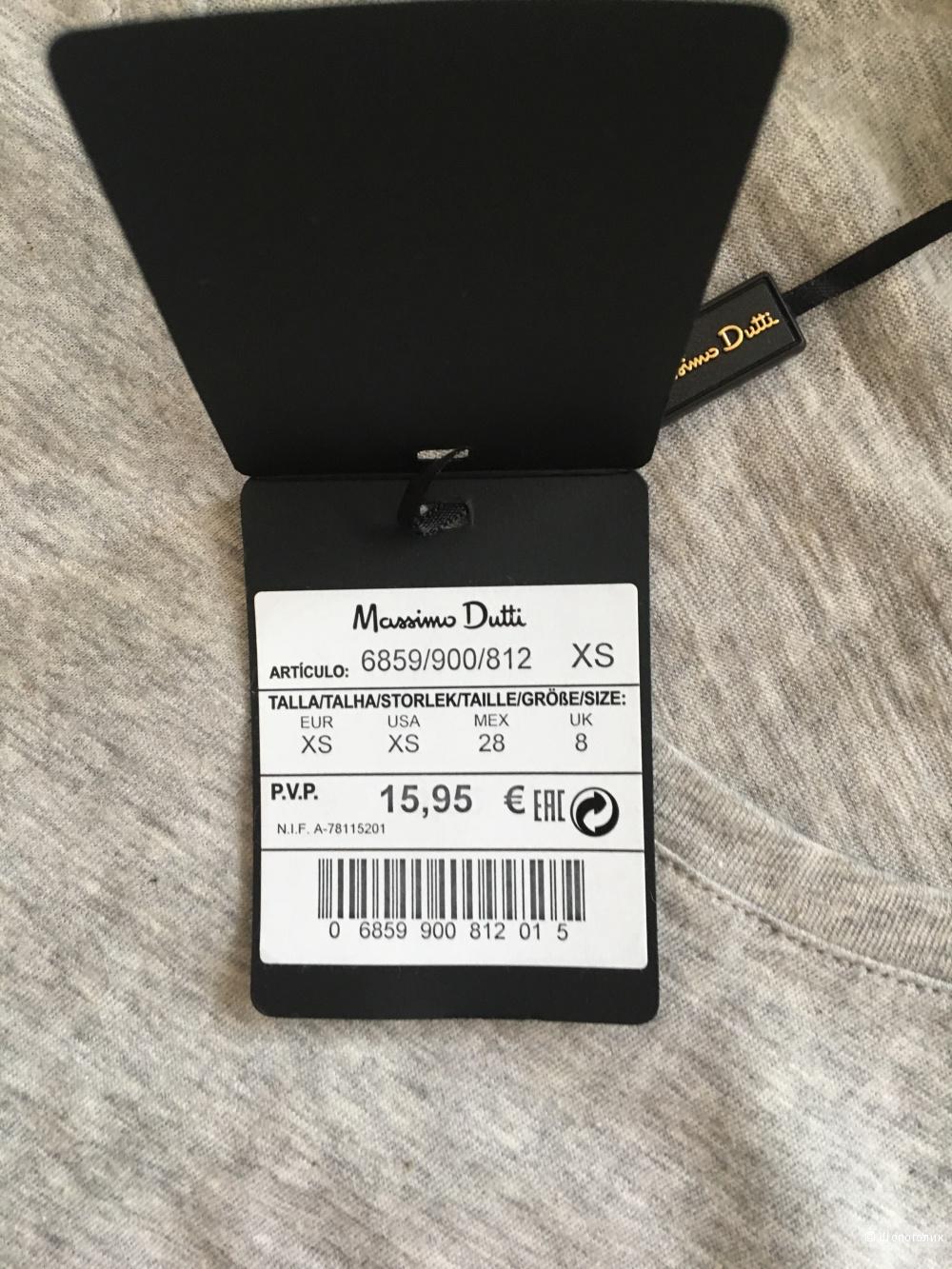 Футболка Massimo Dutti, хс -большемерит