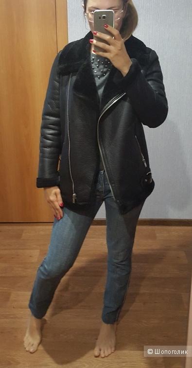 Дубленка авиатор New Look  на 42-44