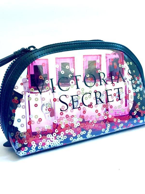 Косметичка Victoria's Secret с пайетками