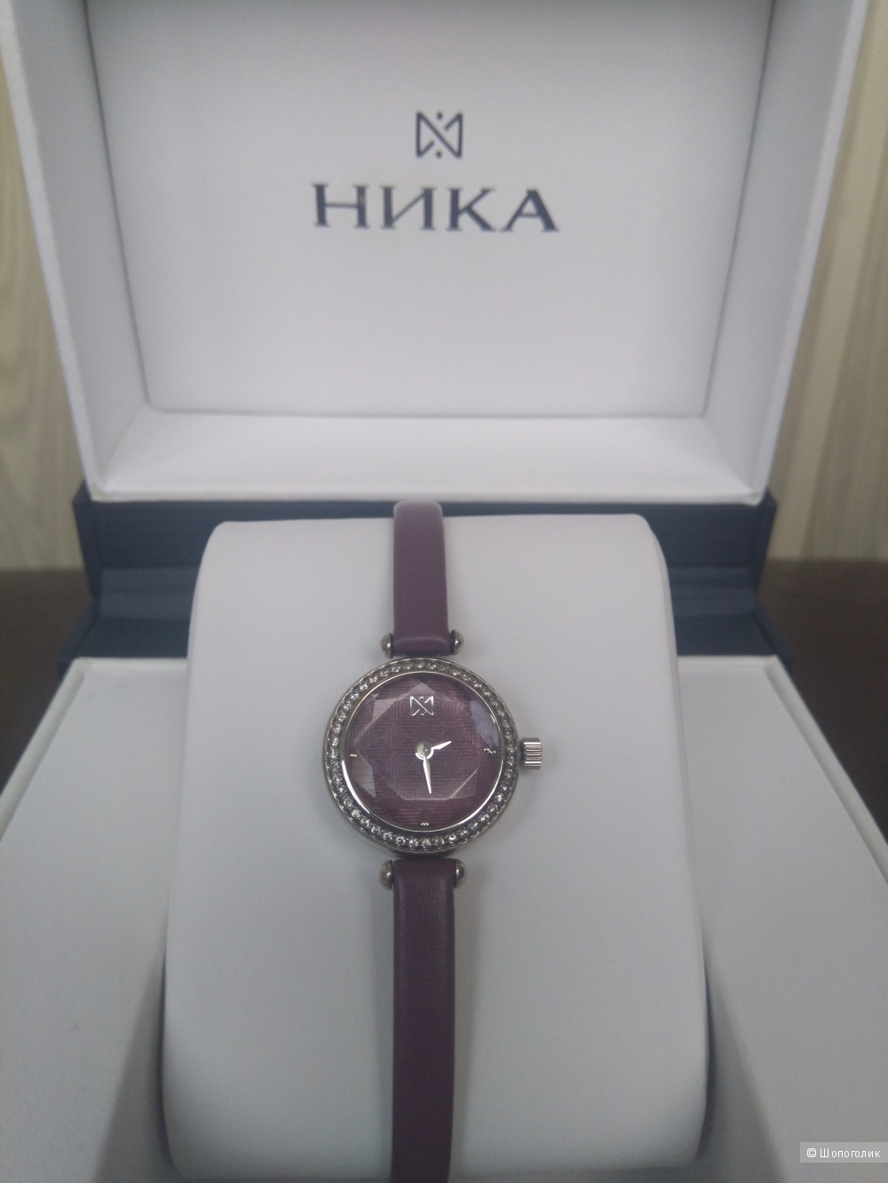 """Часы серебряные """"Ника"""" размер 21,2мм"""