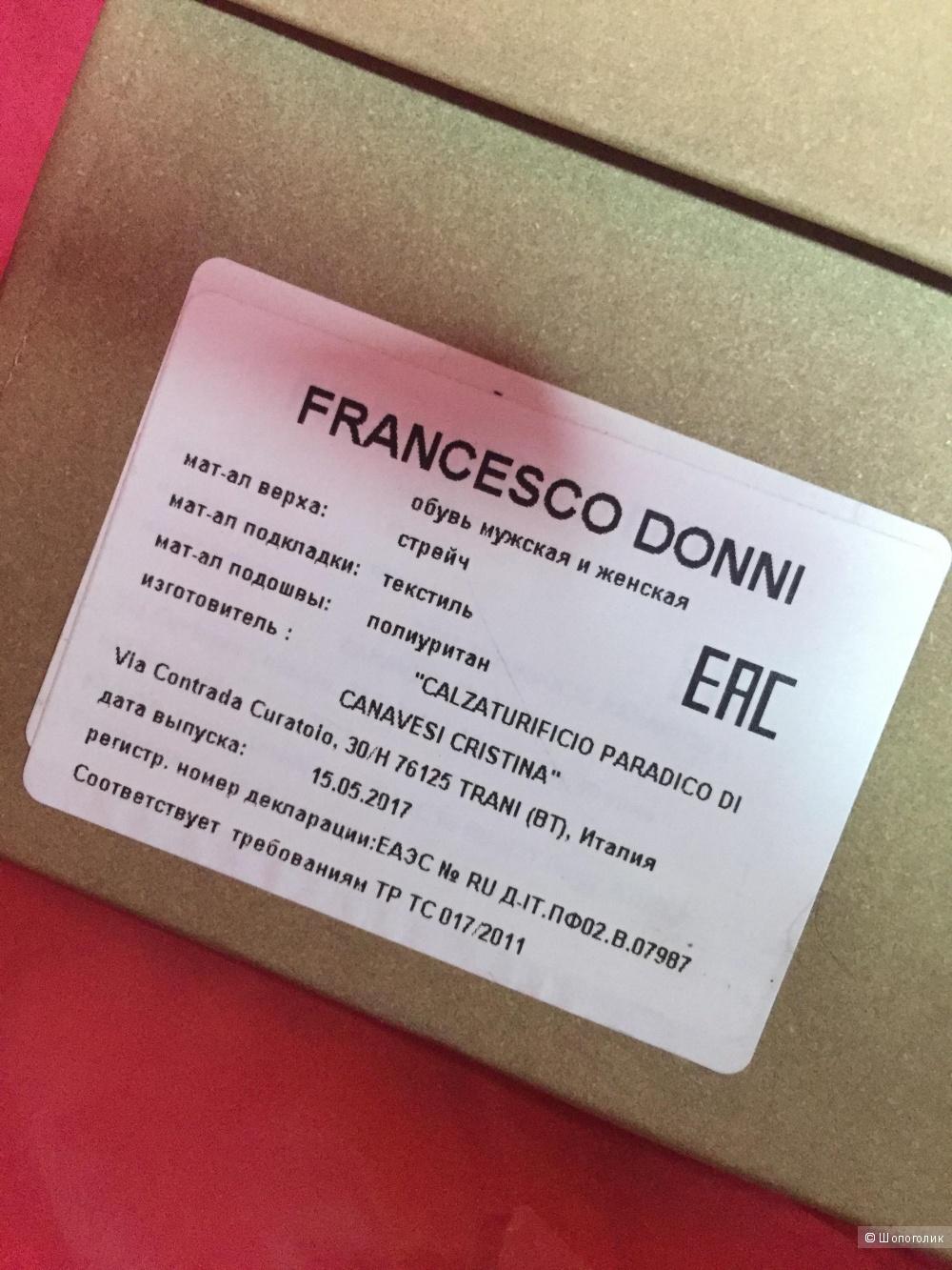 Ботфорты Francesco Donni 36