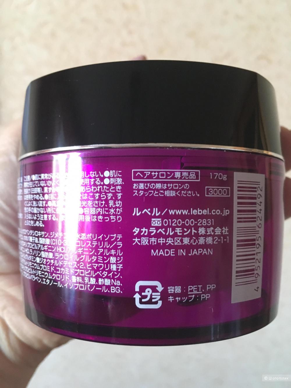 Маска для волос Lebel Iau Deep mask, 170 гр.