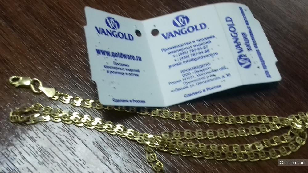 Цепь из золота 585 пробы 40 см