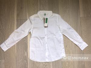 Рубашка Benetton. Размер M (7-8 лет)