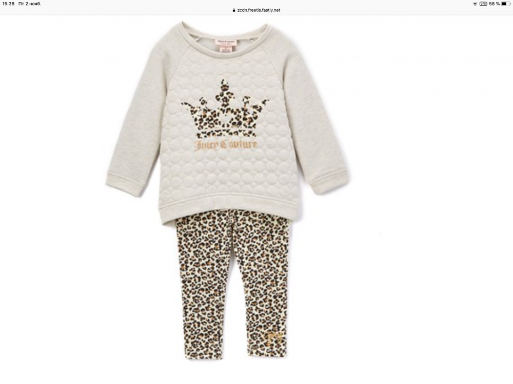 Костюм Juicy Couture p.4T