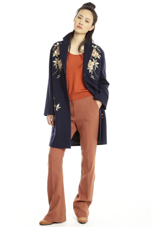 Пальто с вышивкой Max&Co  IT42 S/M
