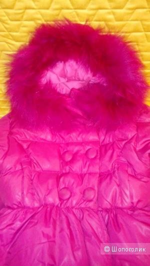 Куртка пуховик детский 92 р-р.