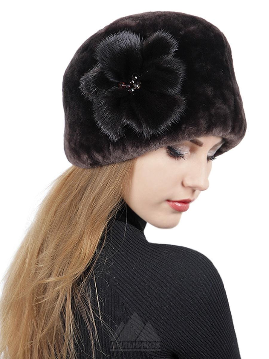 "Зимняя шапка ""Агнесса"" от Pilnikov, размер 58"