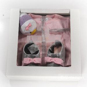 Подарок-набор для новорожденной «Уточка», размер 0-3 м