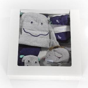 Подарок-набор для новорожденного «Монстрик», размер 0-3 м