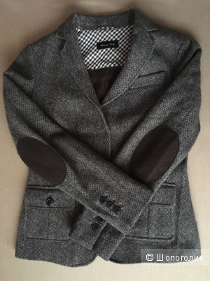 Пиджак Massimo Dutti, размер 40 евро.,44-46 рус.