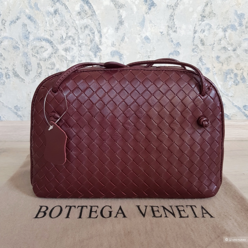 Сумка Bottega Veneta (бордовая)