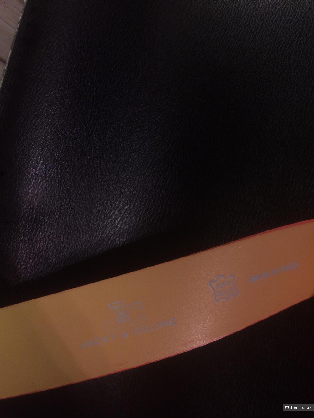 Кожаный ремень, Jacky&Celine, 110 см