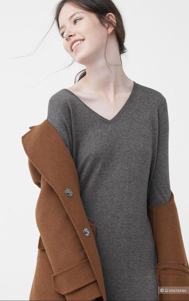 Трикотажное платье- свитер, Mango, M