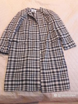 Пальто шелк шерсть Alba Moda Milano 46 -48 размера