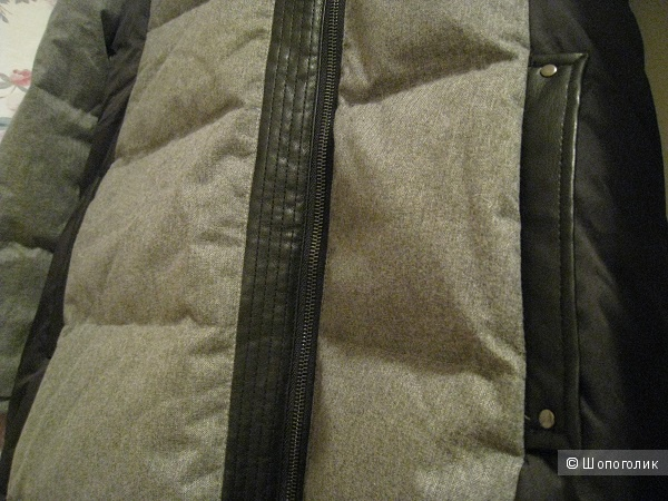 Пуховое пальто Badgley Mischka S