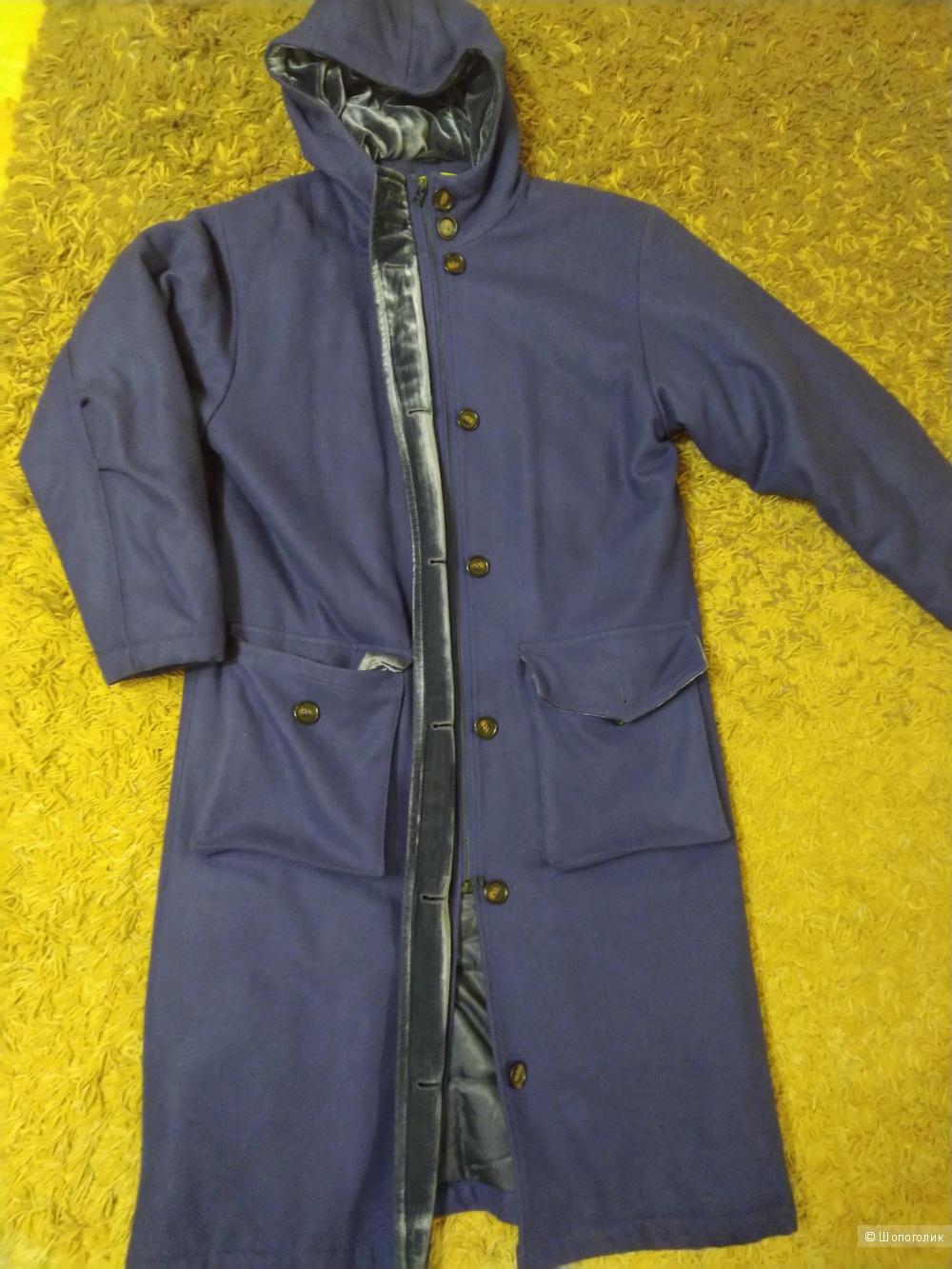 Утепленное пальто-парка Cyrille Gassiline (46 размер)