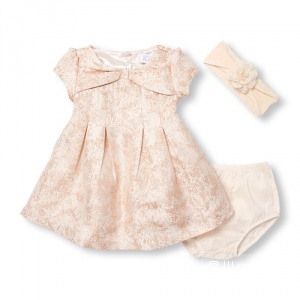Праздничное платье The Children's Place с повязкой, размер 3м (61 см)
