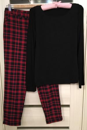 Комплект брюки H&M, размер S+ Лонгслив Strenesse, размер S