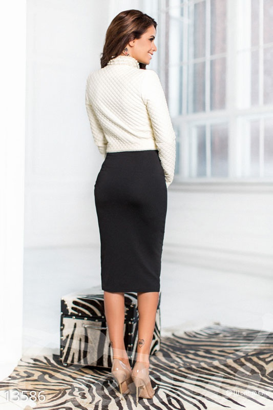 Костюм с платьем. Размеры 42. 44. 46(2)