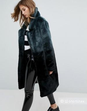 Меховое пальто Urbancode, UK12