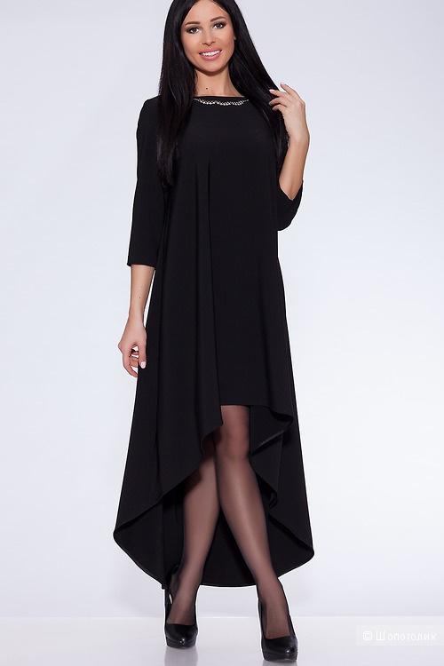 Платье Черное. Размеры 44.46.48.50.52